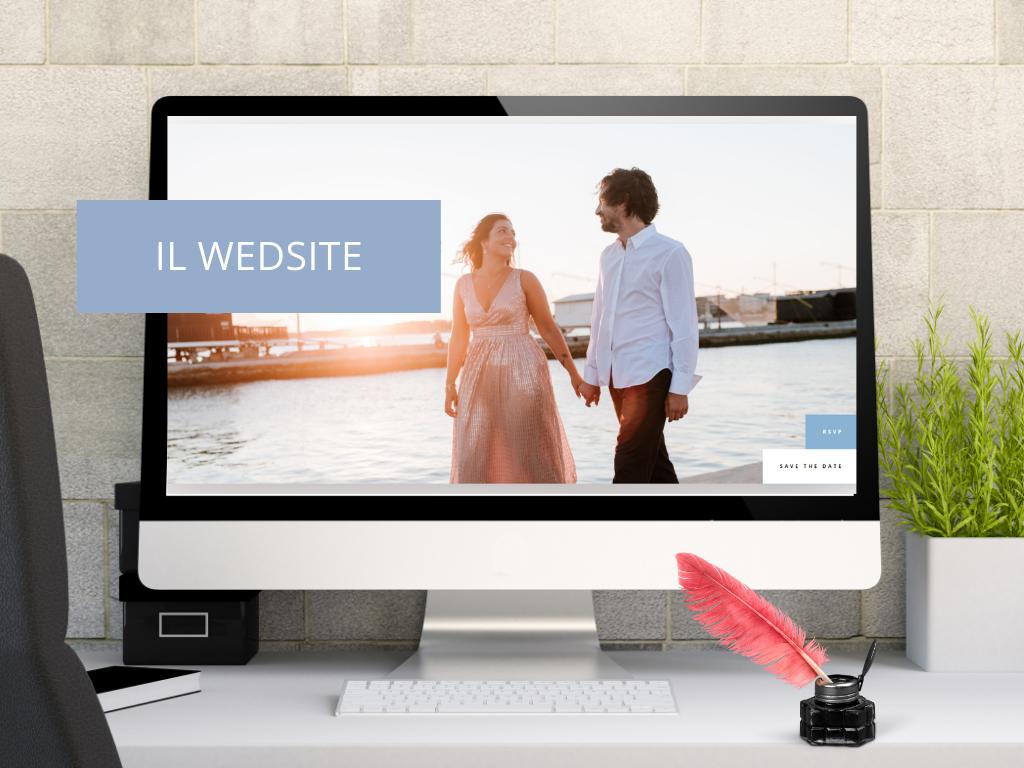 Il Wedsite o Sito web del matrimonio