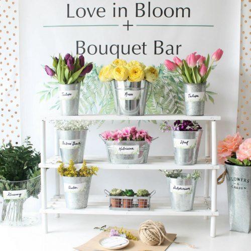 Matrimonio eco chic il flower bar